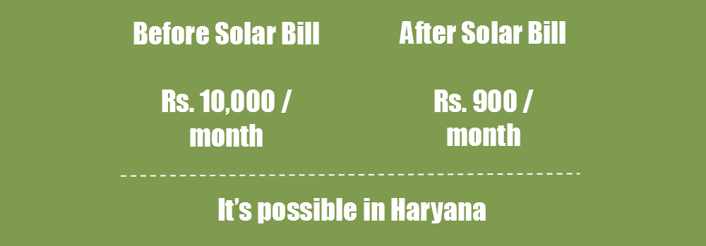 Cut Haryana Electricity Bills By 90 Put Solar On Your
